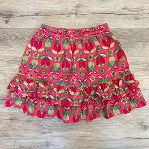 Hanna Andersson Girls Corduroy Ruffled Skirt 100cm